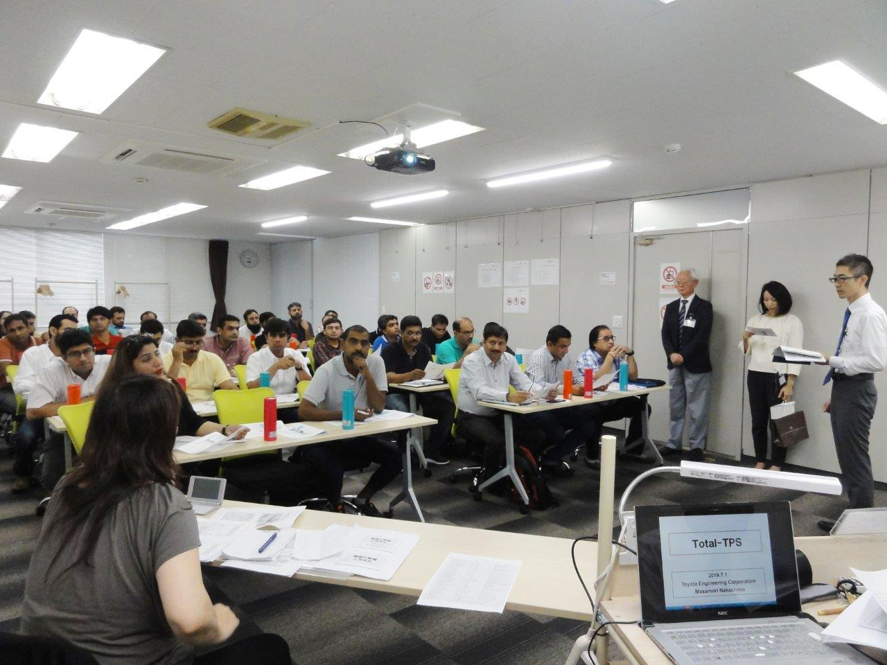 Toyota Production System (TPS) Two Weeks Workshop at TEC